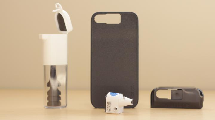 Cellscope OTO - All Components (Lens Displayed)