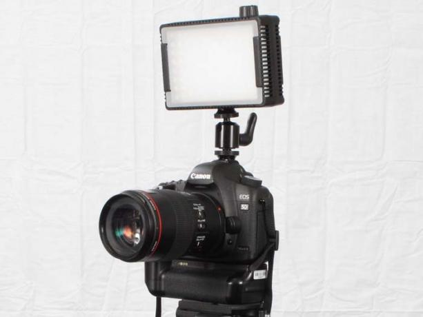 DSLR - Product Shots - External Lighting - Litepanels - MicroPro LED Diffuser