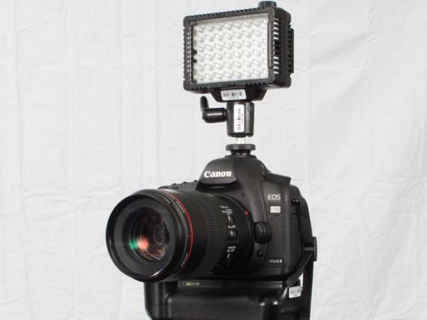 DSLR - Product Shots - External Lighting - Litepanels Micro LED