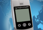 MyGlucoHealth Android App - Start Screen