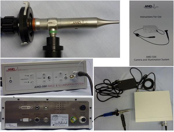 Video Otoscopes at TTAC - AMD 500
