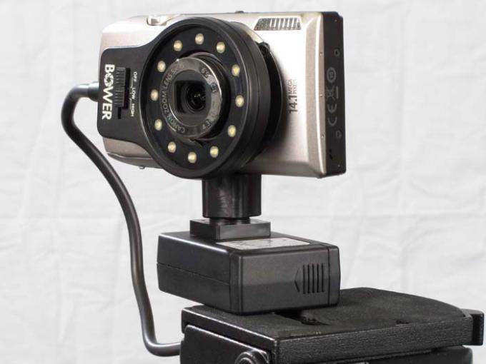 DSLR - Product Shots - External Lighting - Bower Point & Shoot Ring