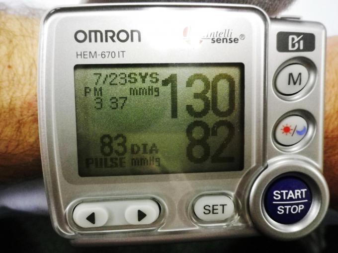 Mobile BP - Omron HEM-670 IT Display b