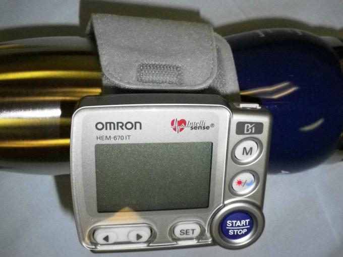 Mobile BP - Omron HEM-670 IT Front View