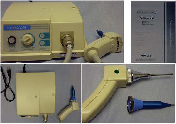 Video Otoscopes at TTAC - Sometech Dr. Camscope