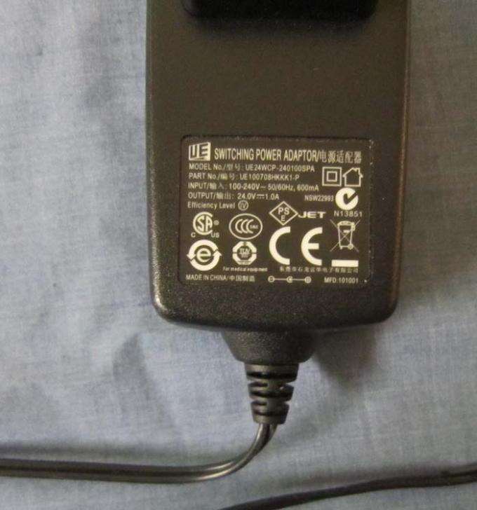 Tympanometers - easyTymp - Power Adapter Plug - B